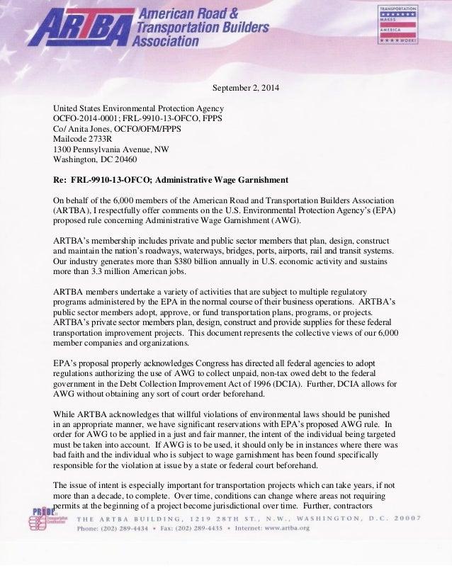 September 2, 2014 United States Environmental Protection Agency OCFO-2014-0001; FRL-9910-13-OFCO, FPPS Co/ Anita Jones, OC...