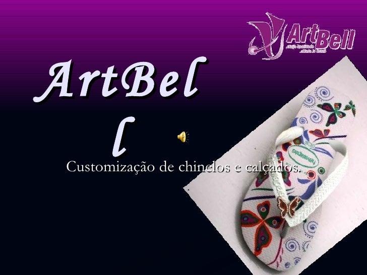 ArtBell Customização de chinelos e calçados.
