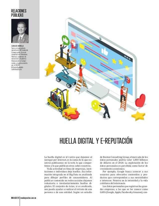 90 AGOSTO mundoejecutivo.com.mx RELACIONES PÚBLICAS CARLOS BONILLA Socio y vicepresidente ejecutivo de AB Estudio de Comun...