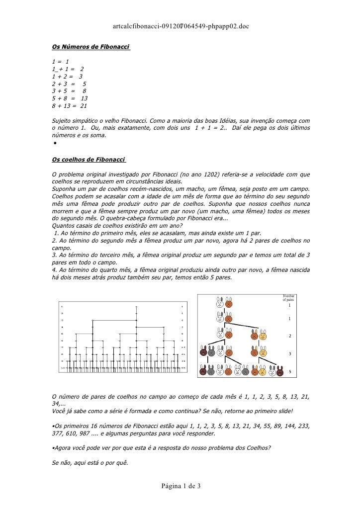 artcalcfibonacci-091207064549-phpapp02.doc                                             1  Os Números de Fibonacci  1= 1 1_...