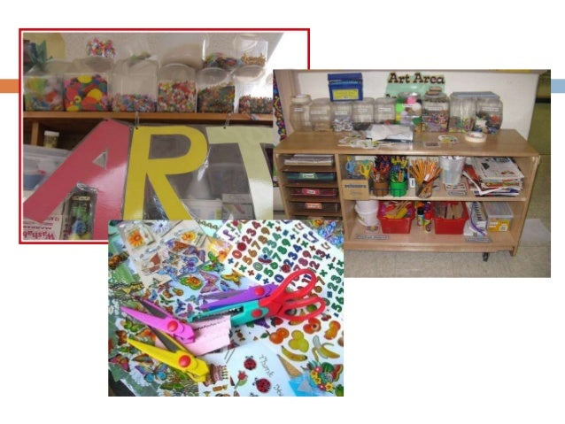 Designing learning areas: Art center