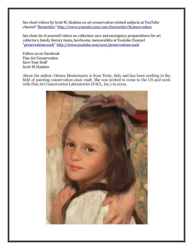Art conservation restoration treatments 3 solutioingenieria Gallery