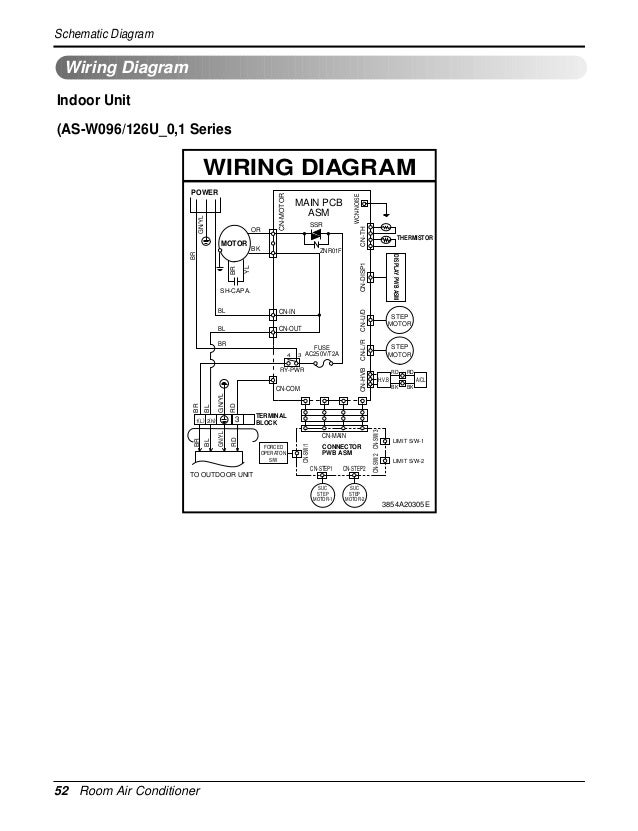 artcool mirror su_chassis service manual Air Conditioner Compressor Wiring Diagram Sharp Air Conditioner Wiring Diagram #5