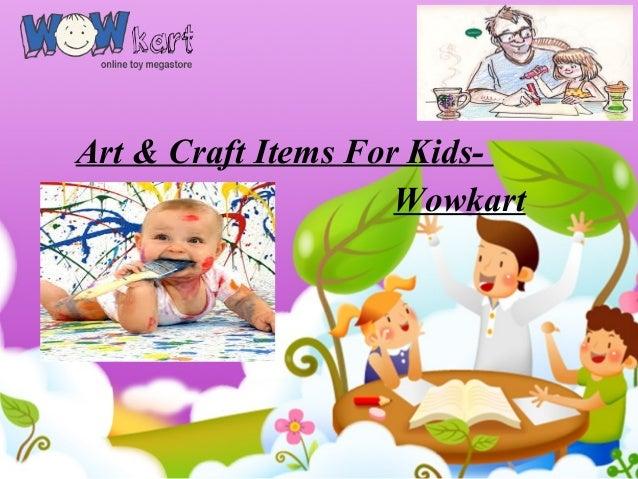 Art Craft Items For Kids Wowkart