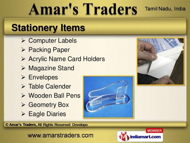 Art Craft Materials By Amars Traders Chennai