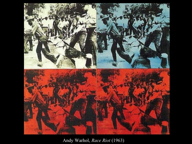 Andy Warhol,  Race Riot  (1963)
