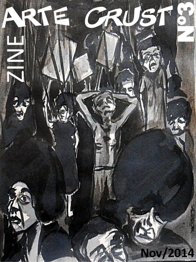 Arte Crust Nº3 Nov/2014 ZINE