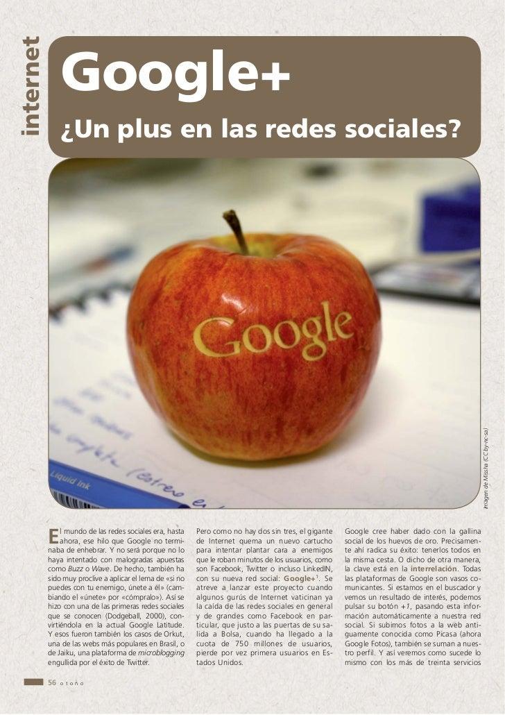 internet                Google+                ¿Un plus en las redes sociales?                                            ...