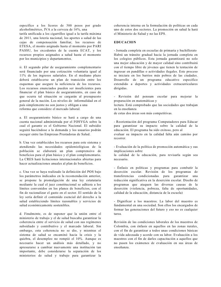 específico a los licores de 300 pesos por grado               coherencia interna en la formulación de políticas en cada al...