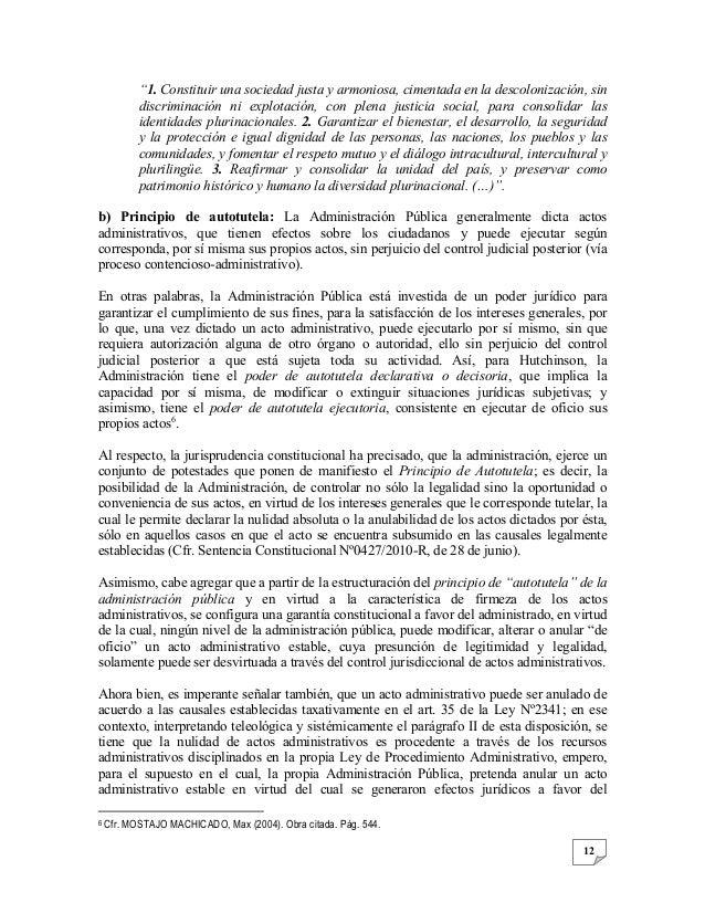 presuncion de legalidad los actos administrativos jurisprudencia