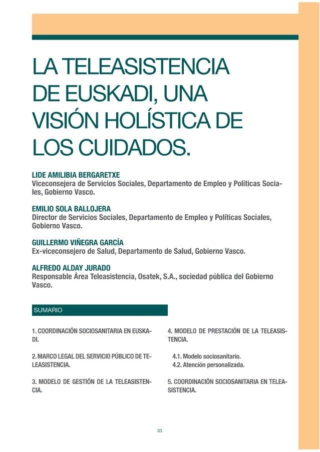 La Teleasistencia de Euskadi, una visión holística de los cuidados.