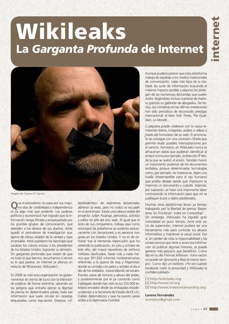 WikiLeaks, la Garganta Profunda de Internet - photo#11