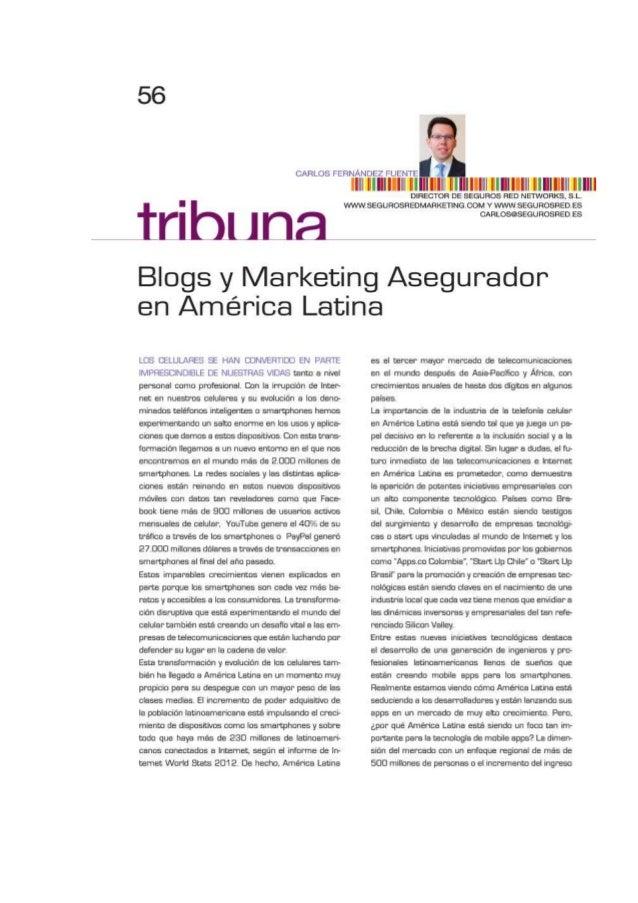 Artículo sobre mobile apps en América Latina