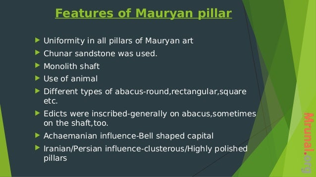mauryan art and architecture pdf