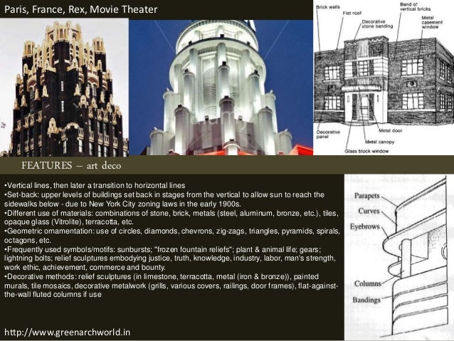 ... 8. FEATURES U2013 Art Deco ...