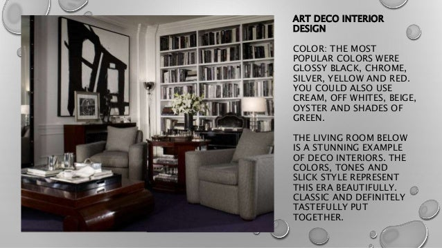 ART DECO INTERIOR DESIGN ...