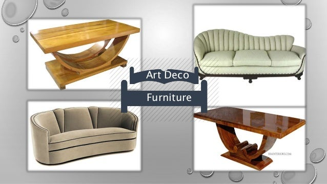 Art Deco - 20 art deco furniture finds