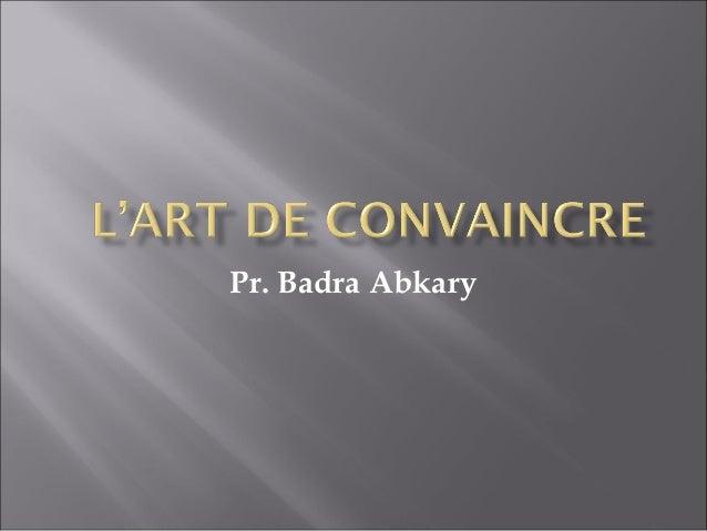 Pr. Badra Abkary