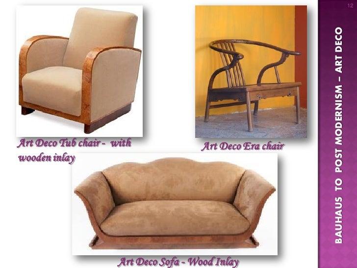 12. 12 BAUHAUS TO POST MODERNISM U2013 ART DECOArt Deco Tub Chair ...