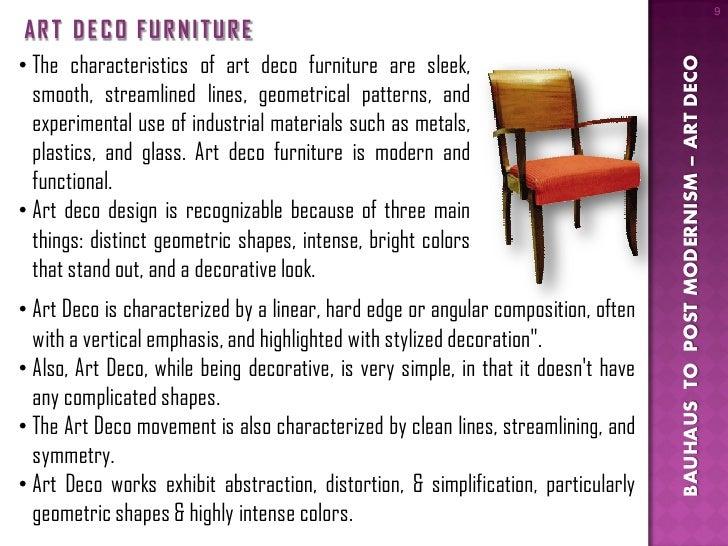 Marvelous ... 9. 9 AR T D E C O F U R N I T U R Eu2022 The Characteristics Of Art Deco  Furniture ...
