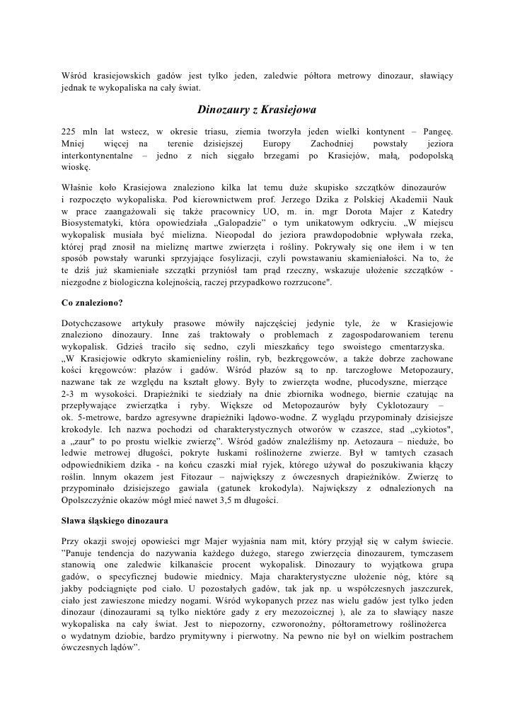 Pradinozaur z Krasiejowa
