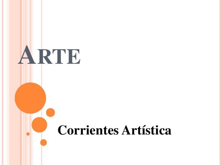 ARTE  Corrientes Artística