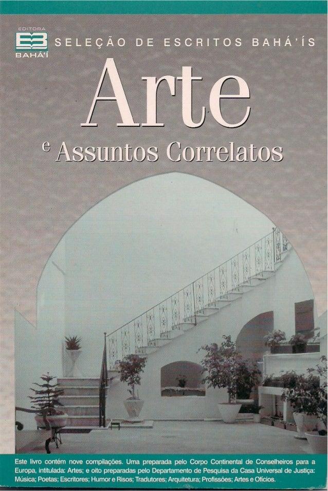 ARTE E ASSUNTOS CORRELATOS  i