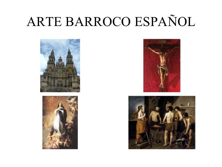 ARTE BARROCO ESPAÑOL