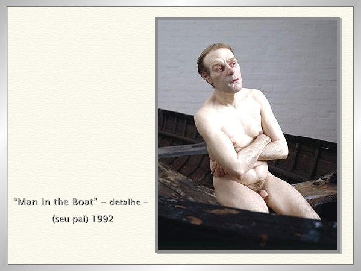 """ Man in the Boat"" -  detalhe -  (seu pai) 1992"