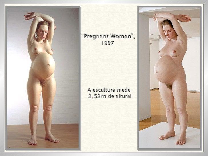 """"""" Pregnant Woman"""",   1997 A escultura mede 2,52m  de altura!"""