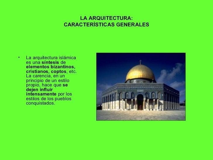 Arte Isl Mico Arquitectura