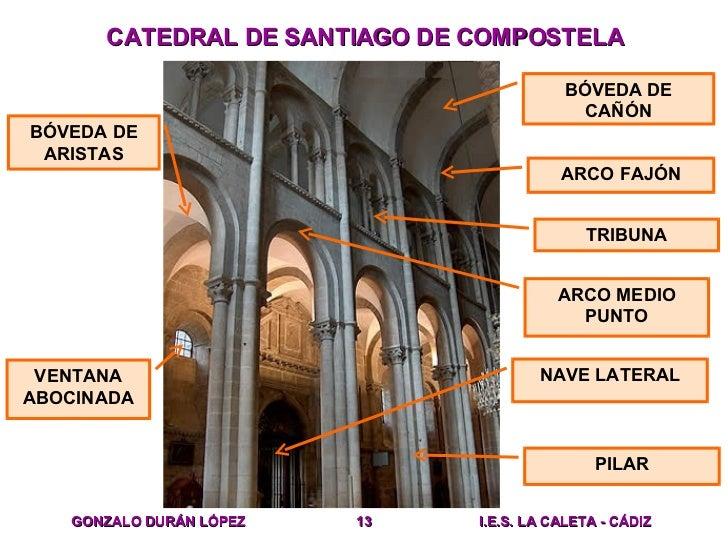 Resultado de imagen de santiago de compostela románico