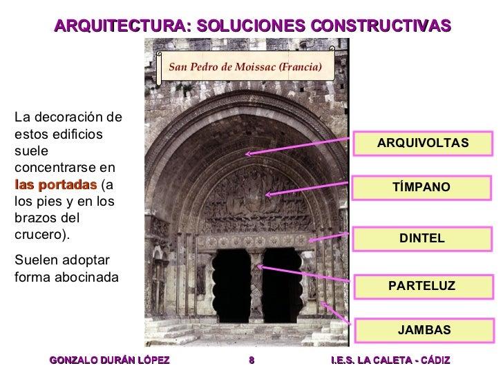 Arte romanico arquitectura for Conceptualizacion de la arquitectura