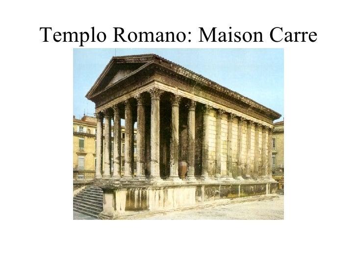 Templo Romano: Maison Carre de Nimes