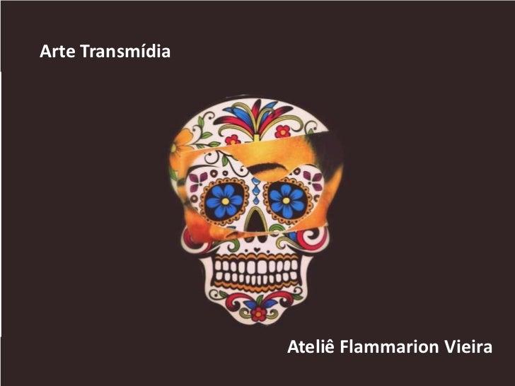 Arte Transmídia                  Ateliê Flammarion Vieira