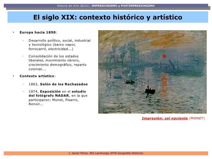 Impresionismo y Postimpresionismo Slide 3