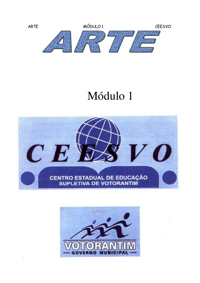ARTE   MÓDULO 1    CEESVO        Módulo 1                        1