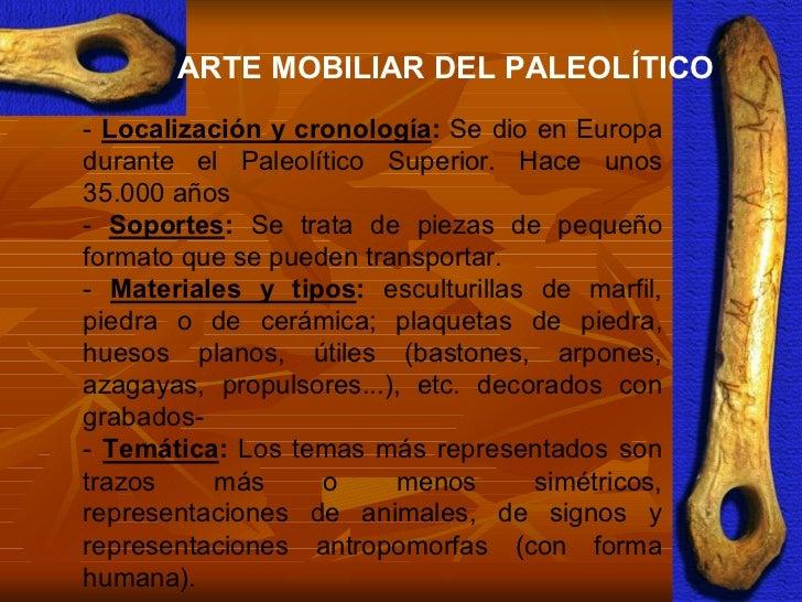 Arte en la prehistoria for Q es arte mobiliar