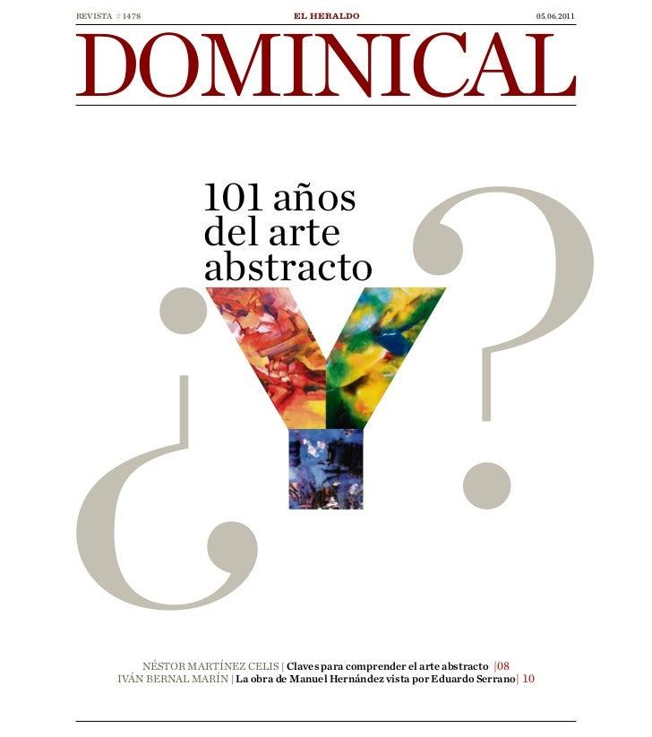 DOMINICALREVISTA # 14781 | REVISTA DOMINICAL | 05.06.2011 | EL HERALDOEL HERALDO                               05.06.2011 ...