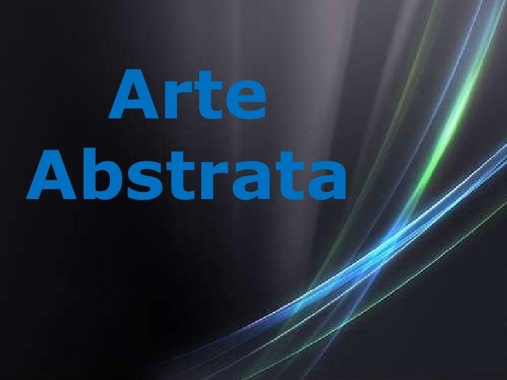 ArteAbstrata