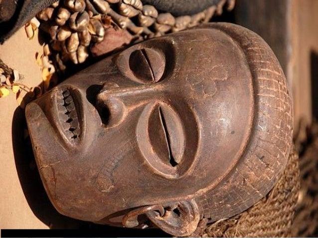 ARTE, 1º. Ano Arte Primitiva Africana Imagem: Wegmann / GNU Free Documentation License