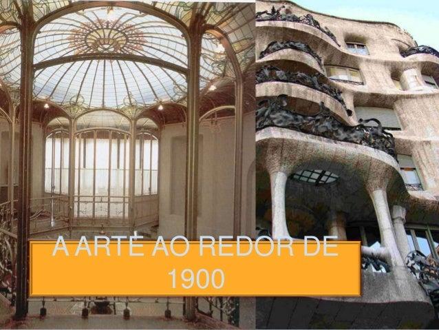 A ARTE AO REDOR DE 1900