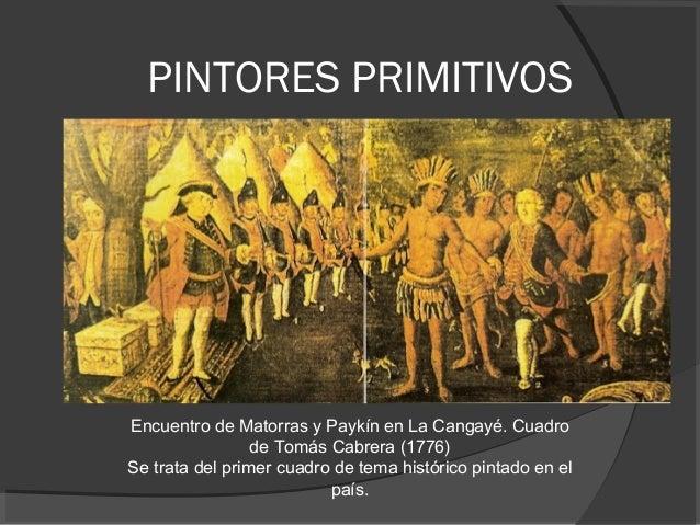 pintores primitivos