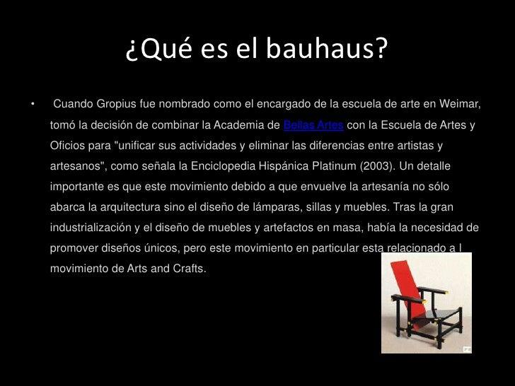 Arte arquitectura bauhaus for Que es arte arquitectura