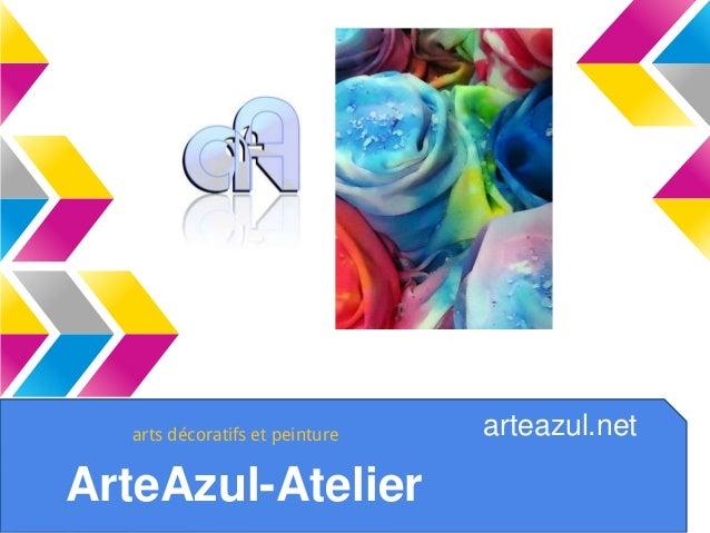 ArteAzul-Atelier arteazul.netarts décoratifs et peinture
