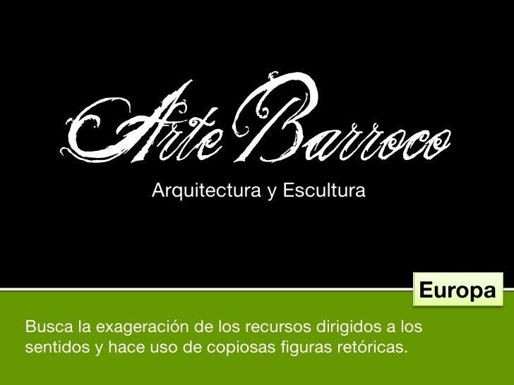 Arte Barroco                 Arquitectura y Escultura                                                        Europa Busca ...