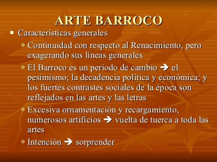 Arte Barroco Power Point