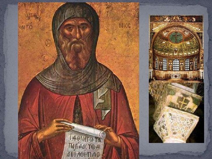  En el 395 d.C., a la muerte de Teodosio se dividió el Imperio entre sus hijos Arcadio   (Oriente) con capital en Constan...