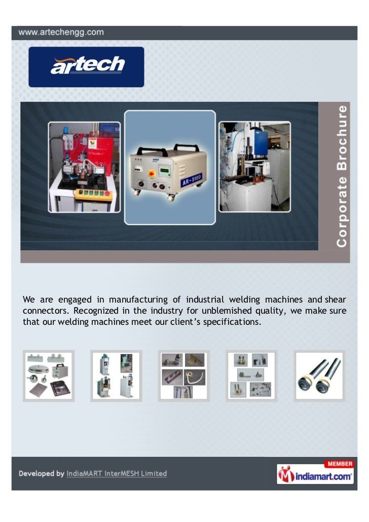 We are engaged in manufacturing of industrial welding machines and shearconnectors. Recognized in the industry for unblemi...