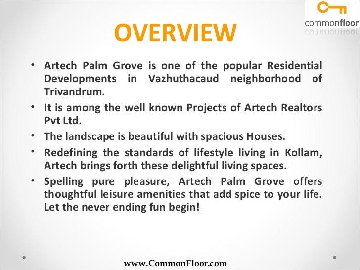 Artech Palm Grove Trivandrum